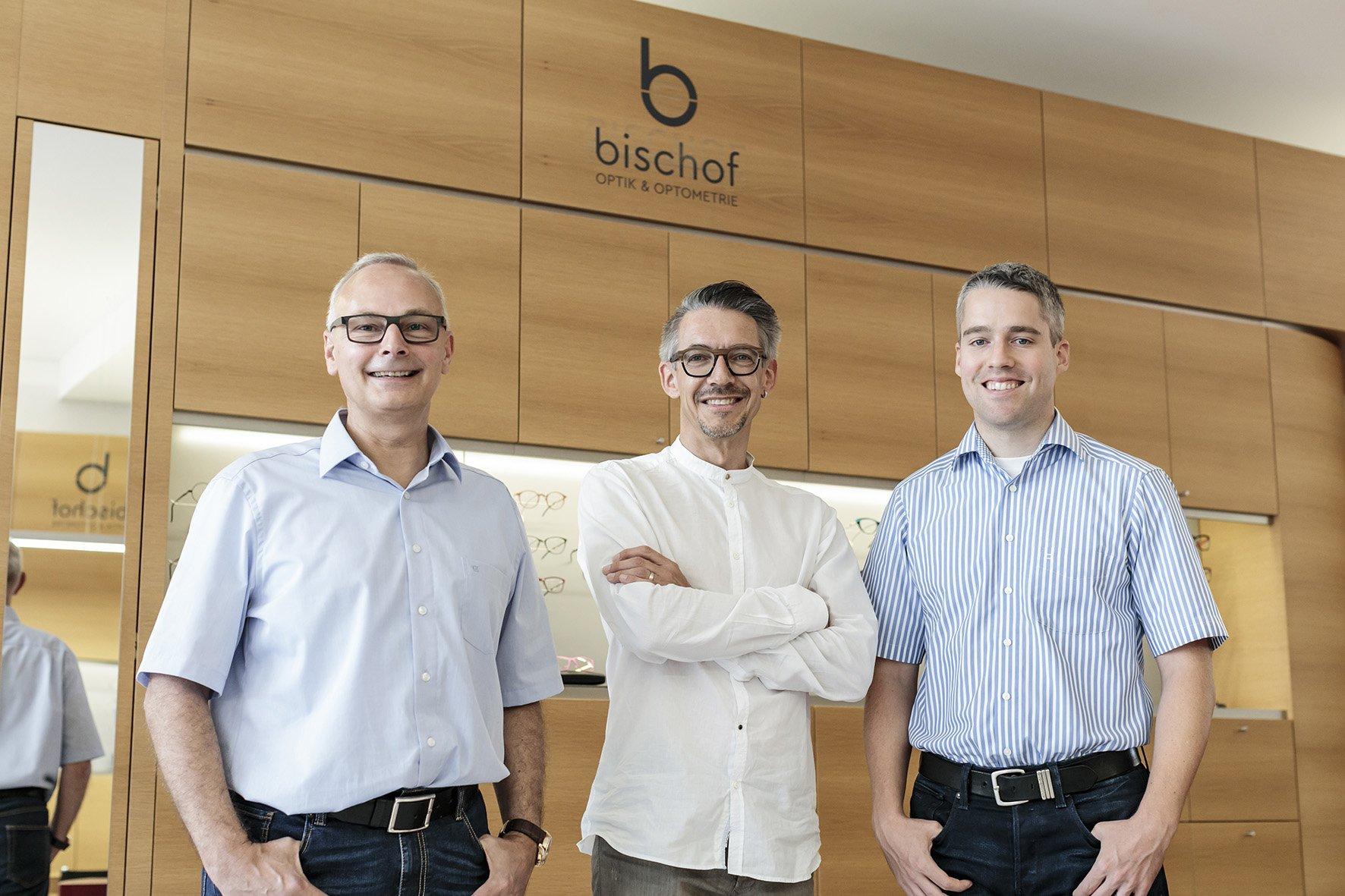 Frank Rosskopf, Urs Betschart und Claudio Jäger